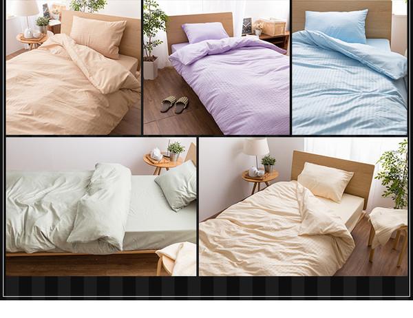 ホテルタイプ 布団カバー4点セット(ベッド用)...の説明画像3