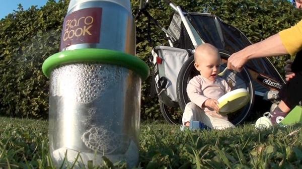 バロクック(BAROCOOK) 加熱式哺乳瓶 ...の説明画像2