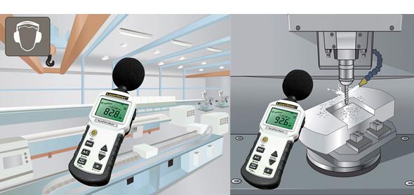 騒音計 (音量測定器/環境測定器) ウマレック...の説明画像5