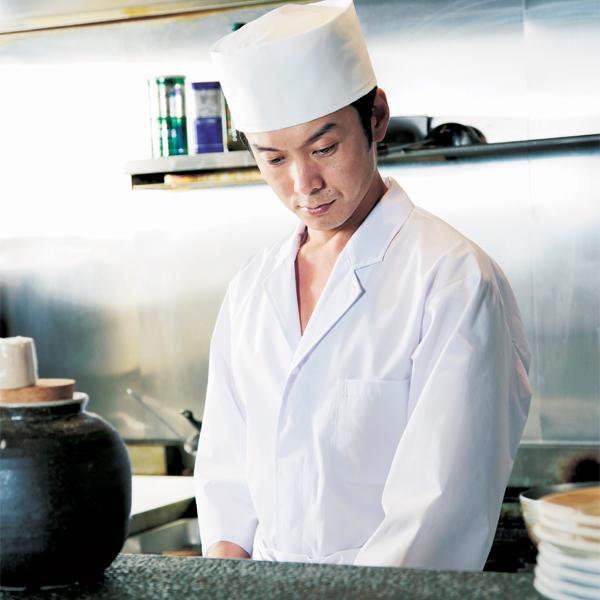 workfriend 調理用白衣男子衿無七分袖...の説明画像4