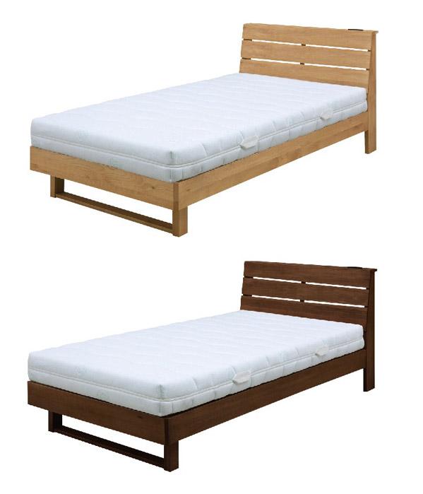 宮付き 二口コンセント付き すのこベッド 『Secta』ベッドフレーム画像03