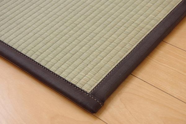 おすすめ!い草 置き畳 ユニット畳 国産 半畳『かるピタ』単品 (裏:すべりにくい加工)画像13