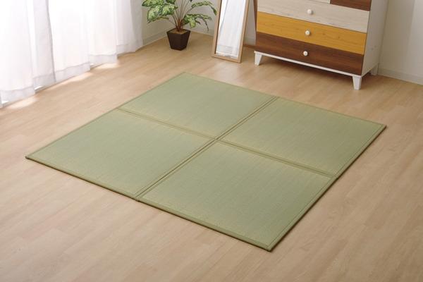 おすすめ!い草 置き畳 ユニット畳 国産 半畳『かるピタ』単品 (裏:すべりにくい加工)画像15