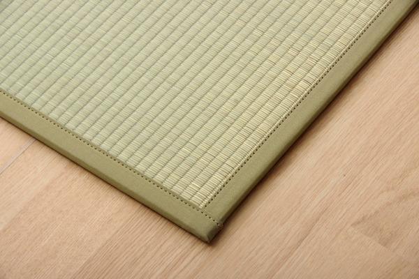 おすすめ!い草 置き畳 ユニット畳 国産 半畳『かるピタ』単品 (裏:すべりにくい加工)画像16