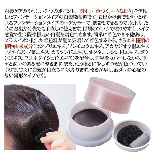 ヘアカラーファンデーション/白髪ケア 【ダーク...の説明画像1