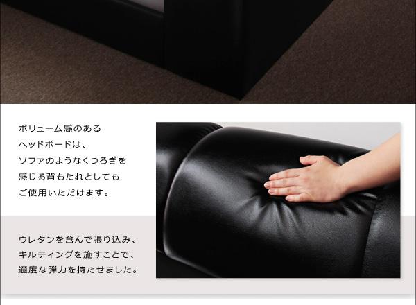 モダンデザインフロアベッド【MAD】マッド