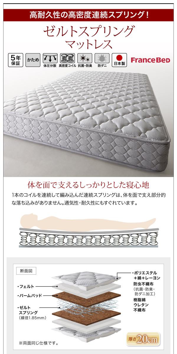 棚・コンセント付きデザインすのこベッド【Haagen】ハーゲン