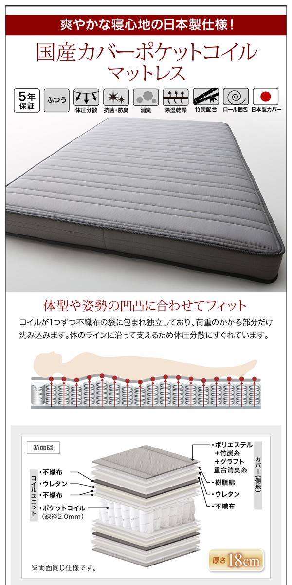 モダン高級レザーデザイナーズベッド【Fortuna】フォルトゥナ