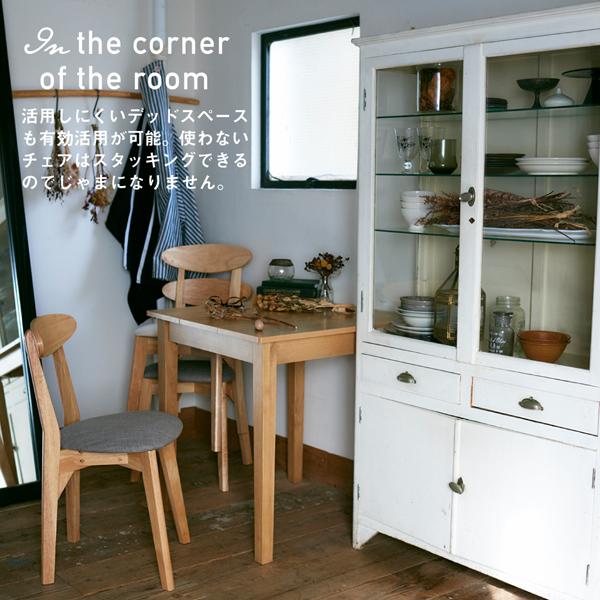 【テーブルなし】 チェア1脚 座面カラー:ブラ...の説明画像8
