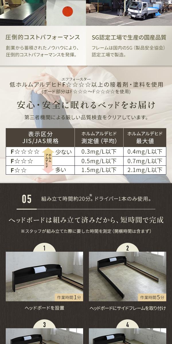【組立設置費込】 照明付き 宮付き 国産フロア...の説明画像5