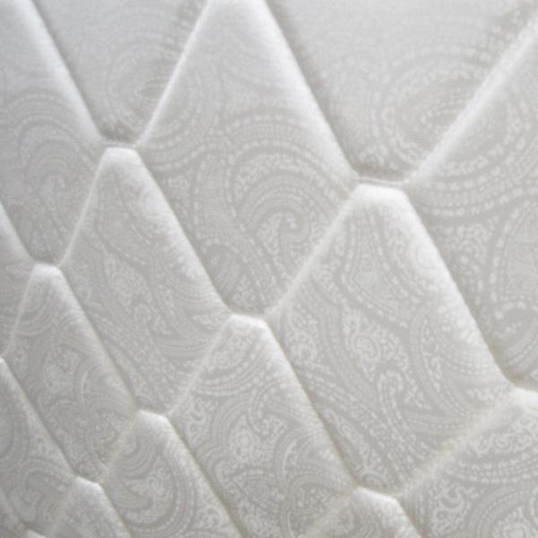 マットレス/寝具 単品 【シングルサイズ】 ホワイト 幅97cm×奥行195cm×高さ17cm 『Romanca』