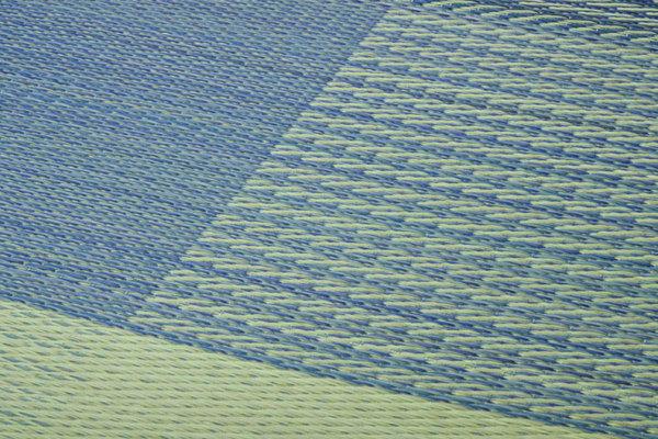 おすすめ!い草 ラグマット/絨毯 シンプル 格子柄 撥水 防滑 抗菌 防臭 消臭 調湿『NSプラム』画像13