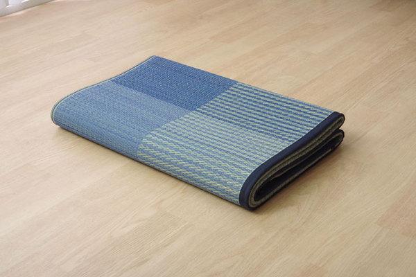 おすすめ!い草 ラグマット/絨毯 シンプル 格子柄 撥水 防滑 抗菌 防臭 消臭 調湿『NSプラム』画像15