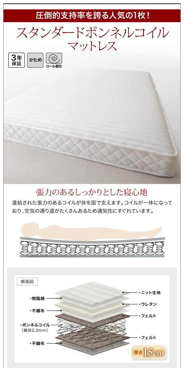 お客様組立 収納ベッド シングル すのこ仕様...の説明画像26