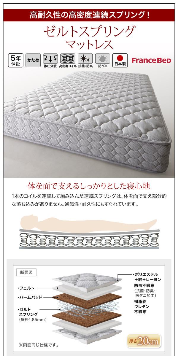 お客様組立 収納ベッド シングル すのこ仕様...の説明画像34