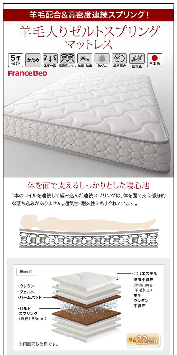 お客様組立 収納ベッド シングル すのこ仕様...の説明画像36