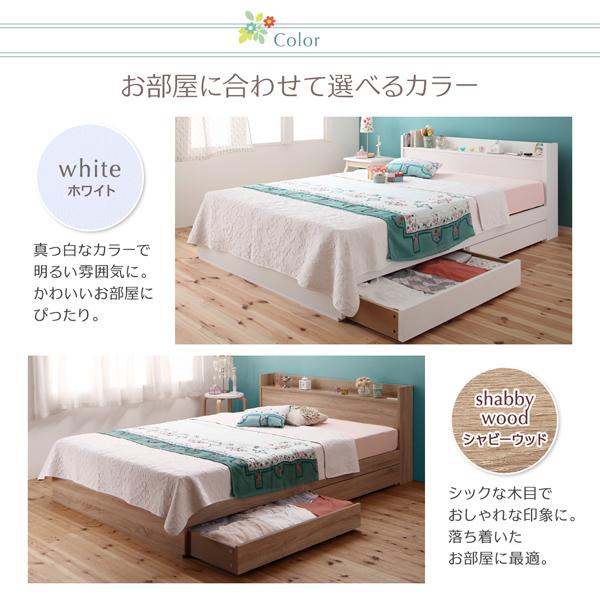 収納ベッド シングル ショート丈 リネン3点...の説明画像12