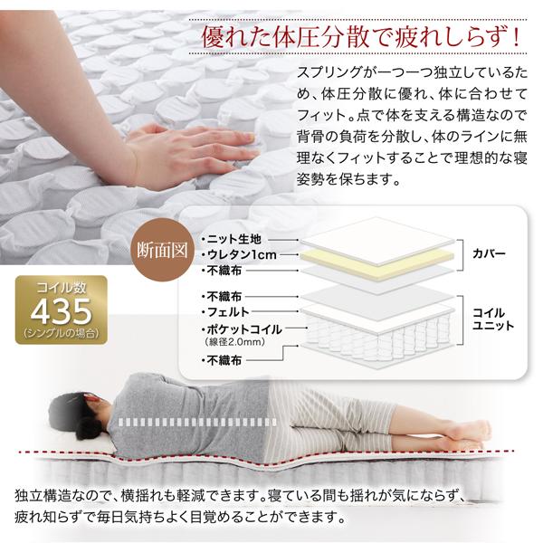 新・ショート丈脚付きマットレスベッド