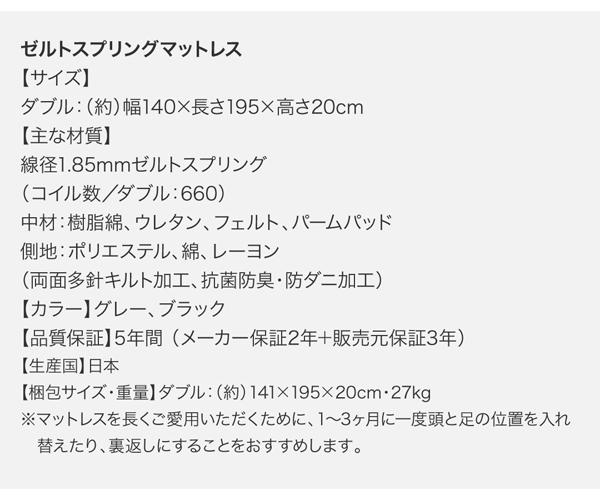 すのこベッド モダンデザイン・高級レザー・大型ベッド Gerade ゲラーデ画像46