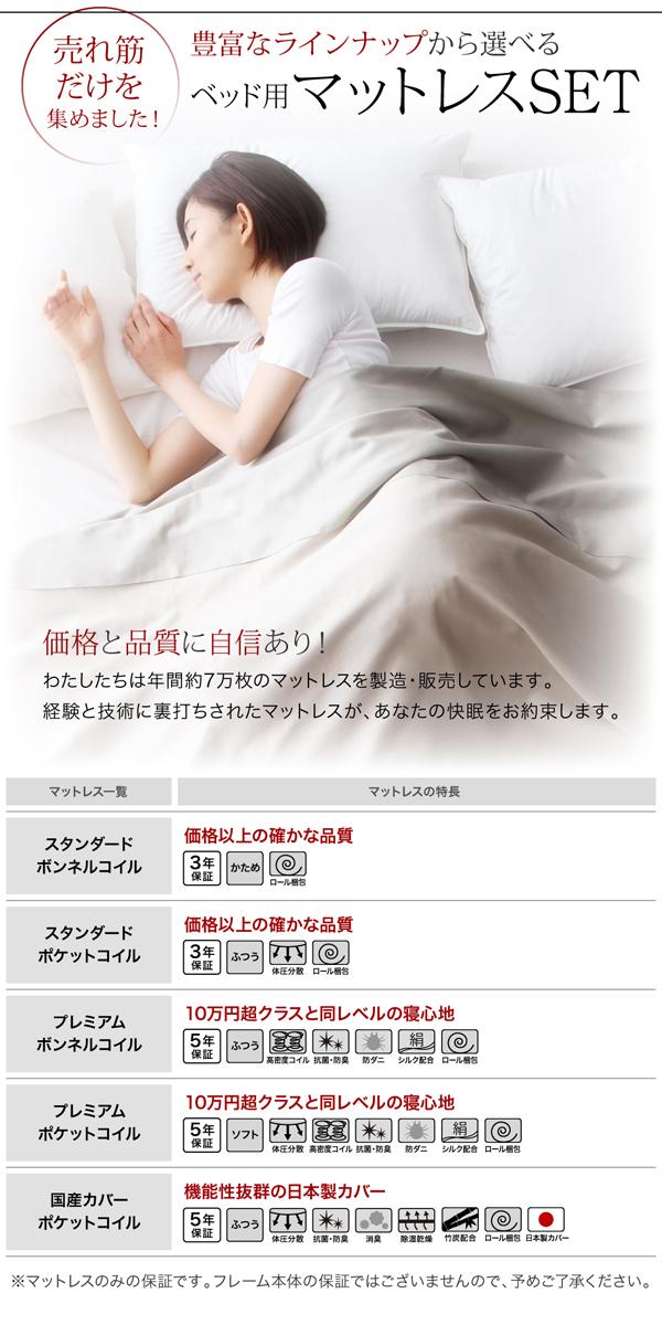 棚・コンセント付きすのこベッド【slim&sharp】スリムアンドシャープ