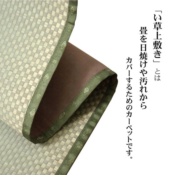 おすすめ!フリーカット い草 上敷き カーペット『F不知火』(裏:ウレタン張り)画像02