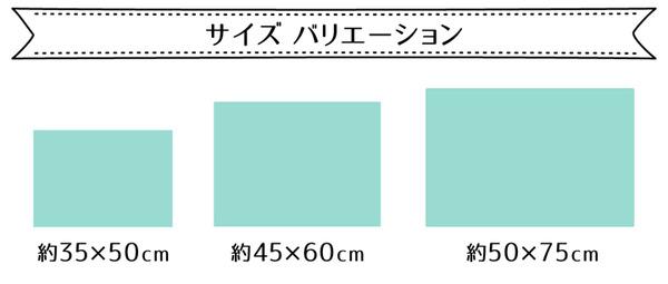 吸水速乾 バスマット フロアマット 2枚組 (グリーン 約45cm×60cm) 無地 洗える 防滑加工 〔脱衣所 洗面所〕の商品説明