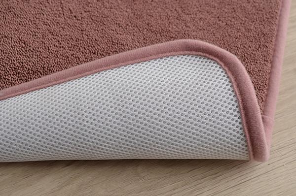 バスマット|フロアマット (約40×60cm アイボリー) 洗える 速乾 吸水性抜群 タオル地風 さらっと 〔脱衣所 お風呂〕の商品説明
